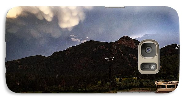 Galaxy Case featuring the photograph Cadet Soccer Stadium by Christin Brodie