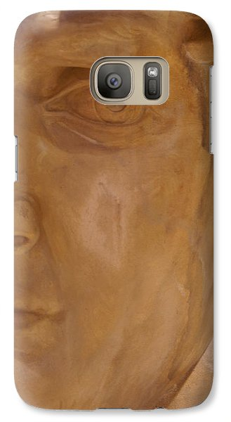 Galaxy Case featuring the photograph Caesar by Cynthia Powell