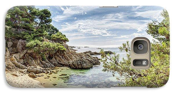 Cala Dels Esculls, Sant Antoni De Calonge Galaxy S7 Case by Marc Garrido