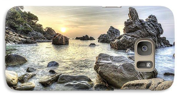 Cala Dels Frares II, Lloret De Mar Catalonia Galaxy S7 Case