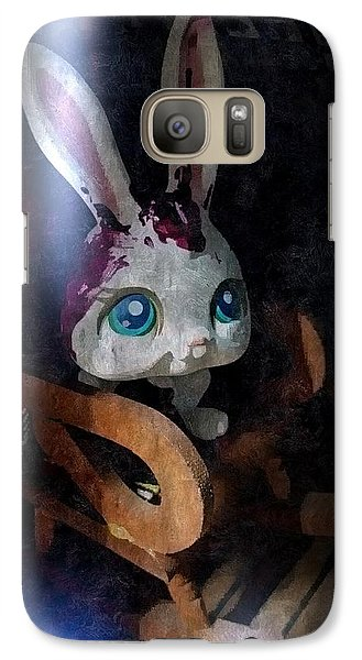 Galaxy Case featuring the photograph Calamitous  by Steven Richardson