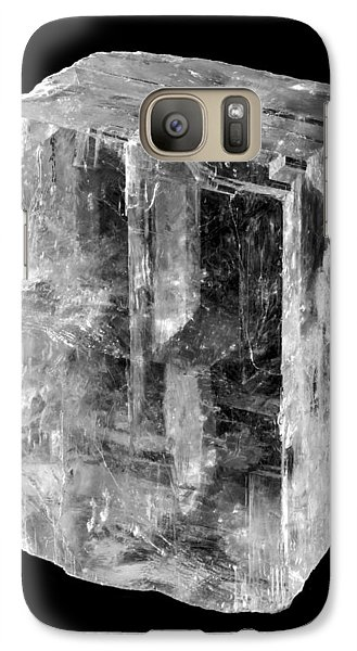 Galaxy Case featuring the photograph Calcite Crystal by Jim Hughes