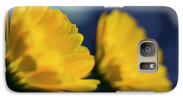 Galaxy Case featuring the photograph Calendula Flowers by Sharon Mau