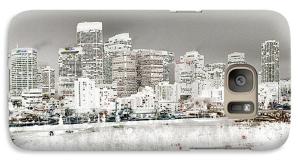 Galaxy Case featuring the digital art Calgary Skyline 3 by Stuart Turnbull