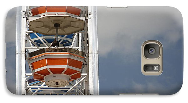 Galaxy Case featuring the photograph Calgary Stampede Ferris Wheel by Wilko Van de Kamp