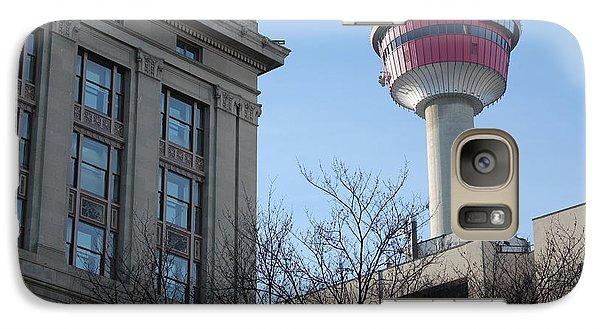 Galaxy Case featuring the photograph Calgary Tower by Wilko Van de Kamp