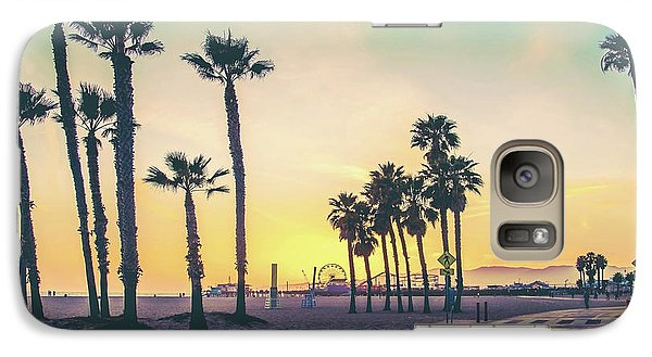 Galaxy Case featuring the photograph Cali Sunset by Az Jackson