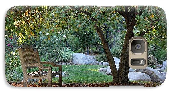 Galaxy Case featuring the photograph California Autumn by Jan Cipolla