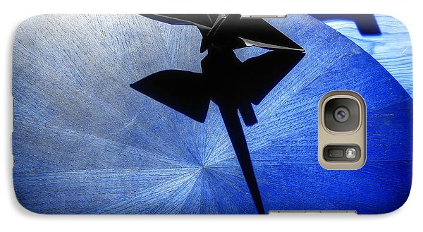 Galaxy Case featuring the photograph California Blue by Wayne Sherriff