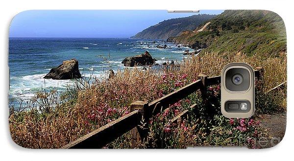 Galaxy Case featuring the photograph California Coast by Joseph G Holland