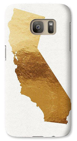 California Gold- Art By Linda Woods Galaxy S7 Case