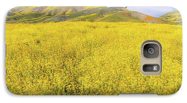 Galaxy Case featuring the photograph California Gold by Marc Crumpler