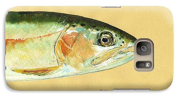 Trout Galaxy S7 Case - California Golden Trout by Juan  Bosco