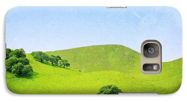 Galaxy Case featuring the photograph California Hillside by Melanie Alexandra Price