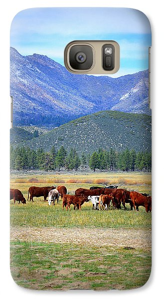 Galaxy Case featuring the photograph California Pastures by Glenn McCarthy Art and Photography