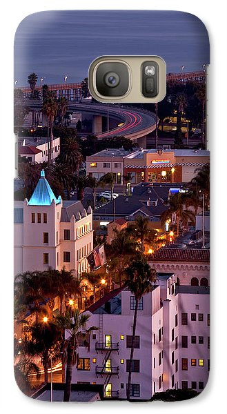 Galaxy Case featuring the photograph California Street At Ventura California by John A Rodriguez