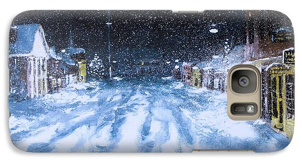 Galaxy Case featuring the painting Call Out The Plows by Jack Skinner