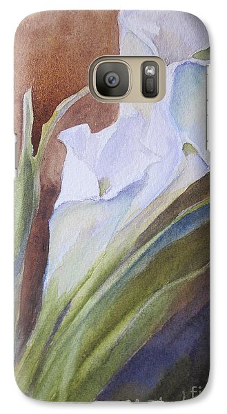 Galaxy Case featuring the painting Calla Lillies by Sandra Strohschein