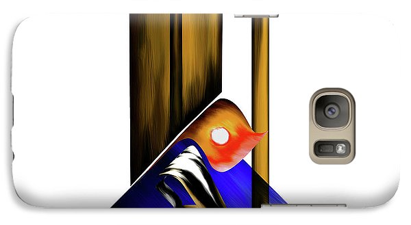 Galaxy Case featuring the painting Calligraphy 102 1 by Mawra Tahreem