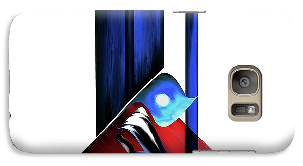 Galaxy Case featuring the painting Calligraphy 102 2 by Mawra Tahreem