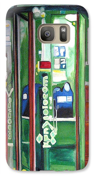 Galaxy Case featuring the painting Calling Dam by Patricia Arroyo