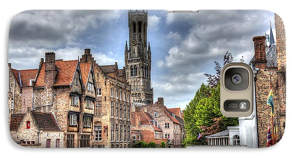 Galaxy Case featuring the photograph Calm Afternoon In Bruges by Shawn Everhart