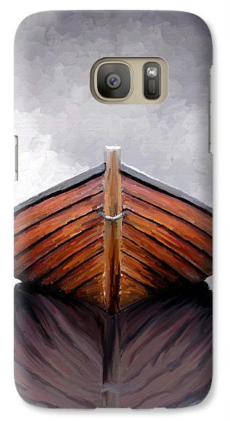Galaxy Case featuring the painting Calm by James Shepherd