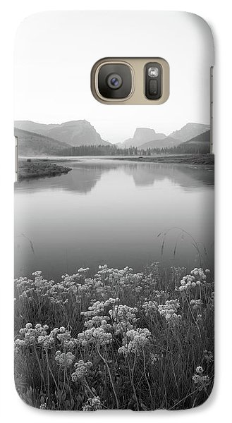 Galaxy Case featuring the photograph Calm Morning  by Dustin LeFevre