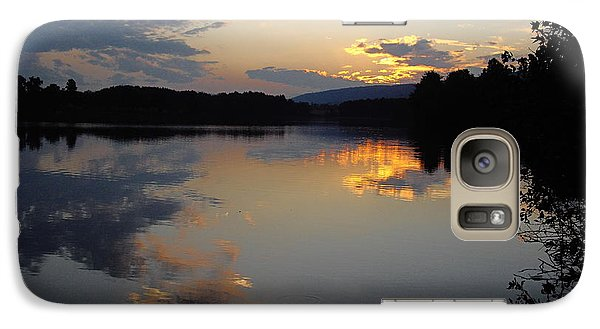 Galaxy Case featuring the photograph Calm Sunset by Vilas Malankar