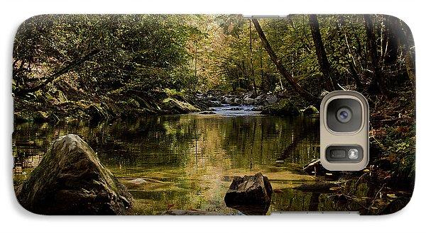 Galaxy Case featuring the photograph Calmer Water by Douglas Stucky
