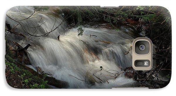 Galaxy Case featuring the photograph Calming Stream by DeeLon Merritt