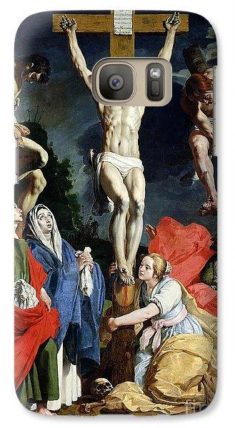 Religion Galaxy S7 Case - Calvary by Abraham Janssens van Nuyssen