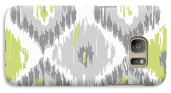 Calyx Ikat Pattern Galaxy Case by Mindy Sommers