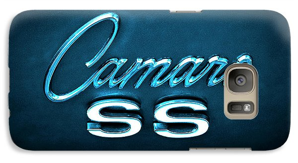 Galaxy Case featuring the photograph Camaro S S Emblem by Mike McGlothlen