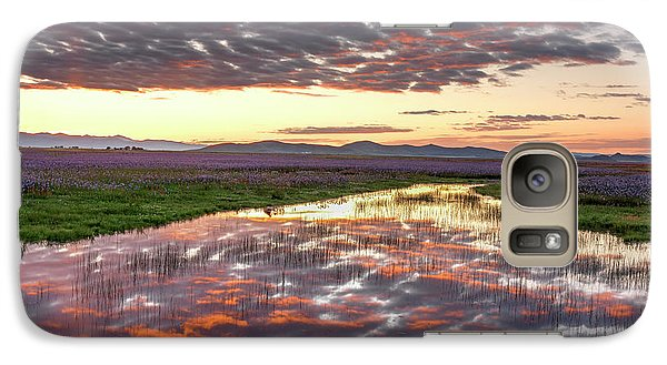 Galaxy Case featuring the photograph Camas Spring Sunrise by Leland D Howard