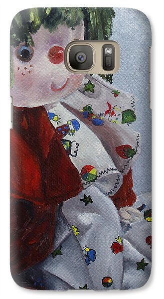 Galaxy Case featuring the painting Camijocamillecalokado by Jane Autry