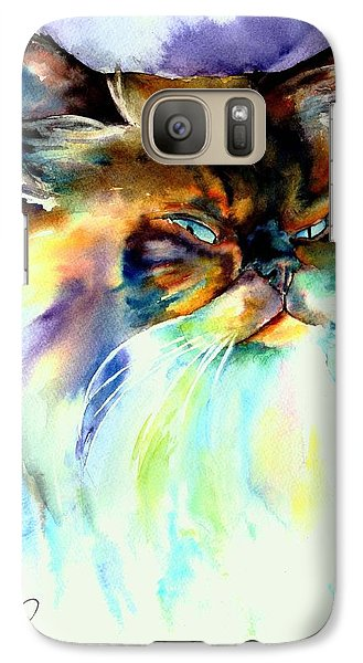 Galaxy Case featuring the painting Camille by Christy Freeman