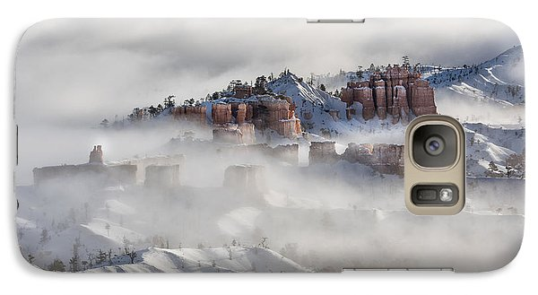 Galaxy Case featuring the photograph Camouflage - Bryce Canyon, Utah by Sandra Bronstein
