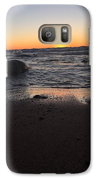 Galaxy Case featuring the photograph Camp In The Fall by Paula Brown