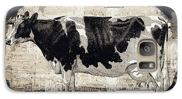 Cow Galaxy S7 Case - Campagne I French Cow Farm by Mindy Sommers