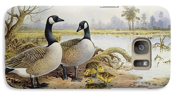 Canada Geese Galaxy S7 Case by Carl Donner