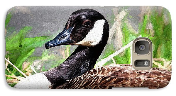 Geese Galaxy S7 Case - Canadian Goose by Tom Mc Nemar