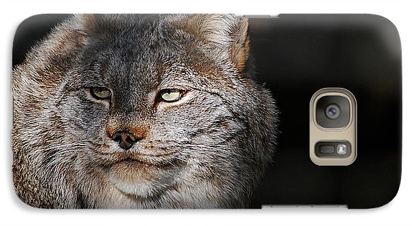 Galaxy Case featuring the photograph Canadian Lynx  20130107_57 by Tina Hopkins
