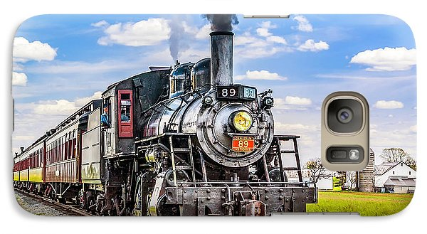 Galaxy Case featuring the photograph Canadian National 89 by Nick Zelinsky