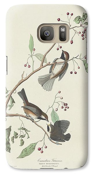 Canadian Titmouse Galaxy S7 Case