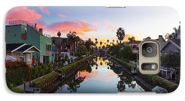 Venice Beach Galaxy S7 Case - Canals Of Venice Beach by Sean Davey