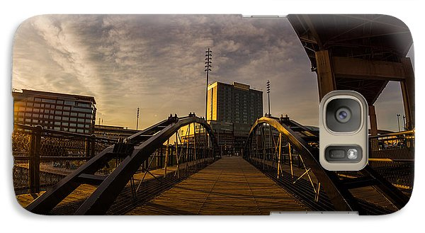 Galaxy Case featuring the photograph Canalside Dawn No 5 by Chris Bordeleau