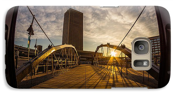 Galaxy Case featuring the photograph Canalside Dawn No 7 by Chris Bordeleau