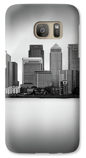 Canary Wharf II, London Galaxy S7 Case by Ivo Kerssemakers