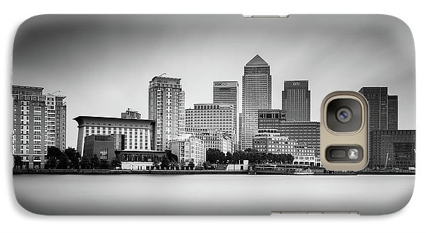 Canary Wharf, London Galaxy S7 Case by Ivo Kerssemakers